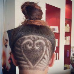 Hair tracks cairns