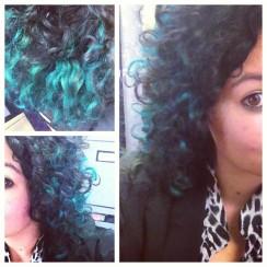Turquoise foils